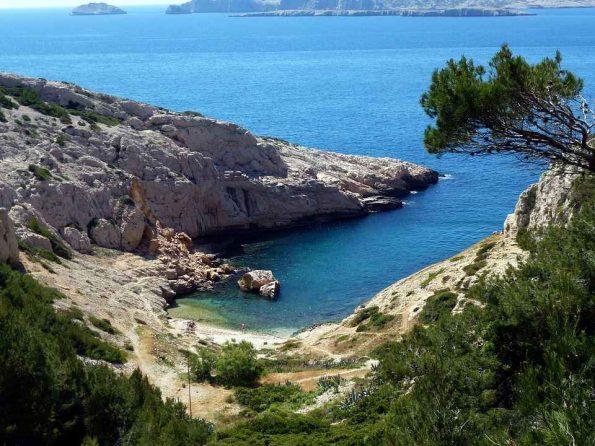 calanques Marseille avec Blandine