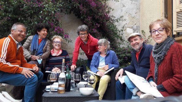 stage carnet de voyage blandine Nice 2021
