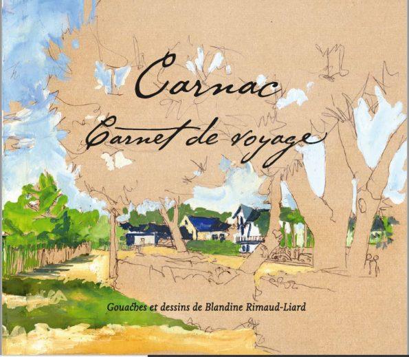 livre Carnac gouaches Blandine